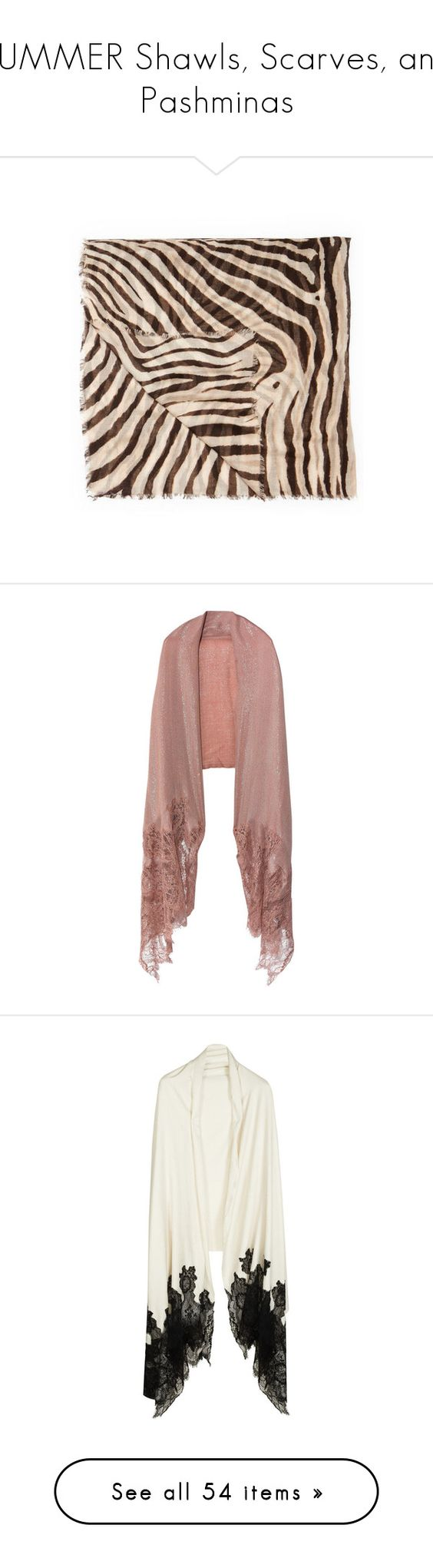 """SUMMER Shawls, Scarves, and Pashminas"" by carolinarcieri ❤ liked on Polyvore featuring accessories, scarves, zebra scarves, ralph lauren shawl, ralph lauren scarves, lightweight scarves, ralph lauren, outerwear, shawl and hats gloves & scarves"