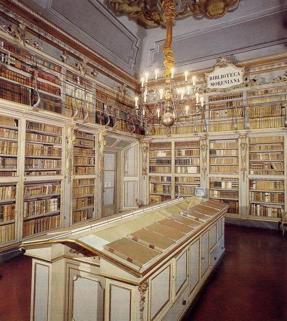 La #Biblioteca Moreniana di #FIrenze | #library