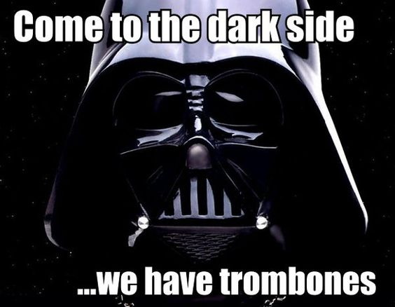 I thought u had cookies not tromebones