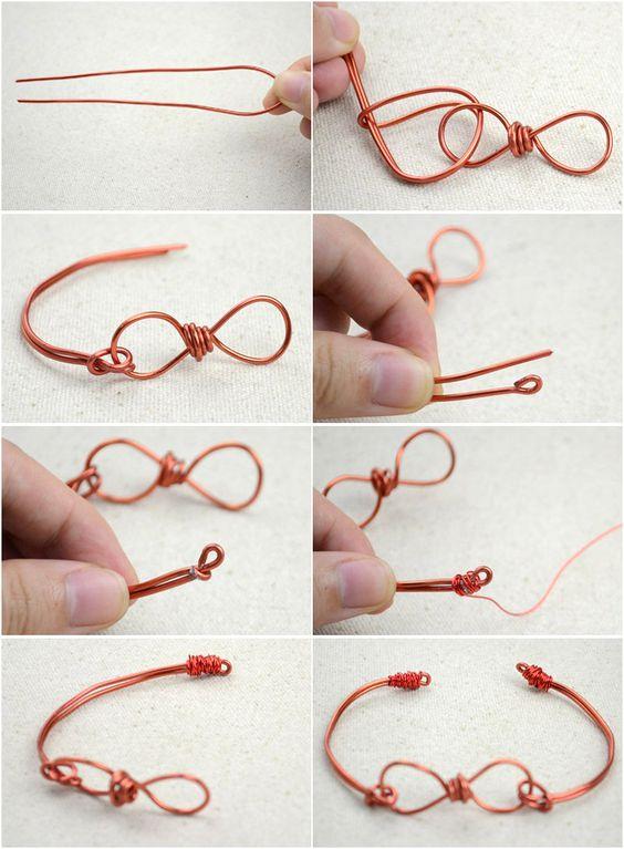 Le unique design de bijou fait à la main – Des instructions de création de bracelet en fil infinies - Pandahall.com