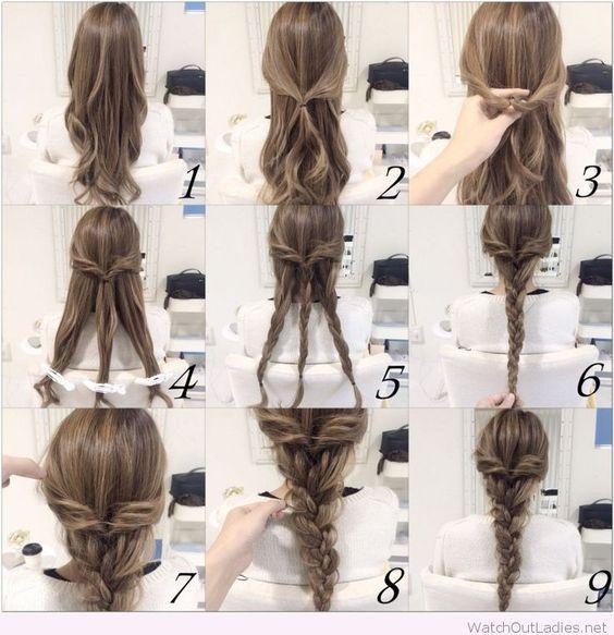 Phenomenal Braid Hairstyles Braids And Hairstyle Tutorials On Pinterest Hairstyle Inspiration Daily Dogsangcom