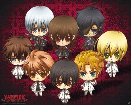 Poster affiche Vampire Knight SD Characters