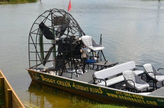 Boggy Creek Airboat Rides in Kissimmee Florida – #VisitKiss