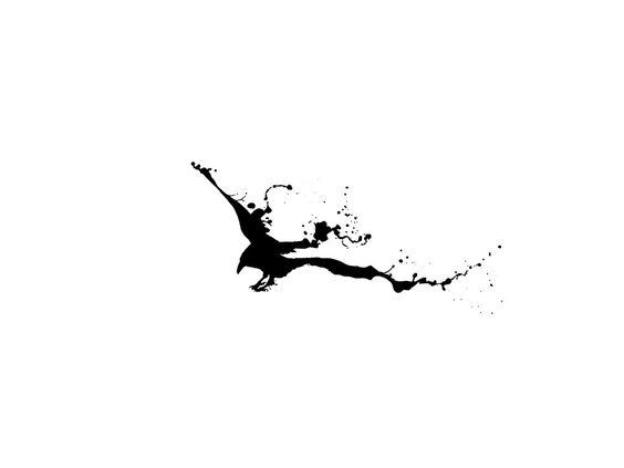 black_interesting_tattoo_sketch_of_raven.jpg 1,024×768 ...