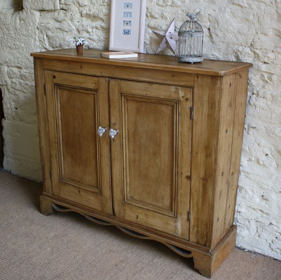 Vintage Pine Hall Cupboard | Cupboards | Furniture