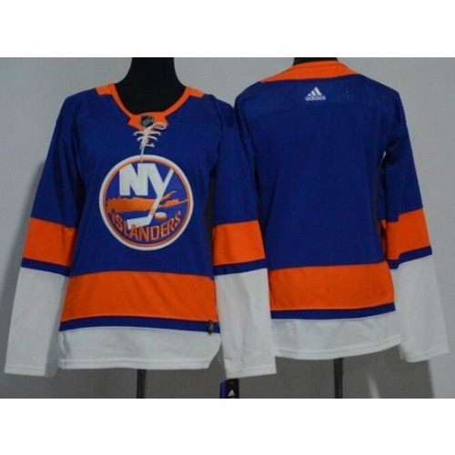 Women S New York Islanders Blank Blue Adidas Jersey Blue Adidas New York Islanders