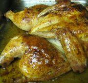 Chipotle-guajillo baked chicken
