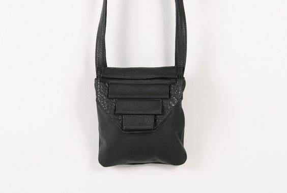 Alea Trio Leather Bag - Alea Trio leather bag by Collina Strada.