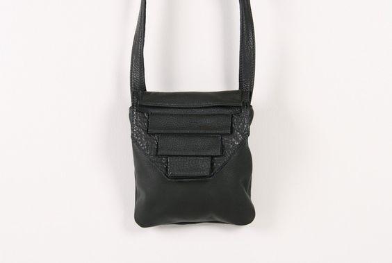 Alea Trio Leather Bag - Alea Trio leather bag by Collina Strada.