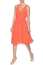 Tangerine Orange Dress
