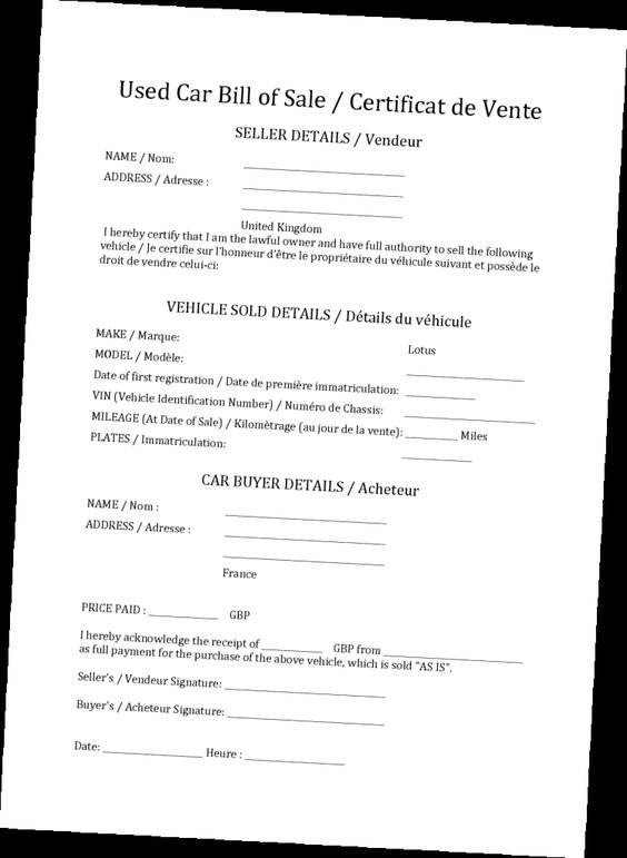 Certified Used Car Bill Of Sale For Trusty Transaction Photos Of - auto sale contract with payments