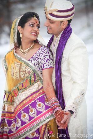 Indian Wedding Bride Groom Portraits Maharaniweddings Gallery Photo 7517