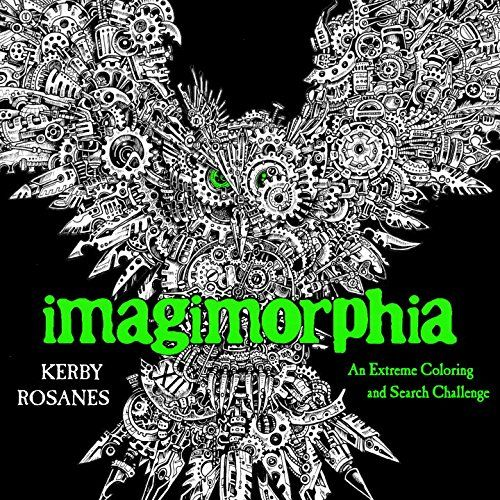 Imagimorphia An Extreme Coloring And Search Challenge By
