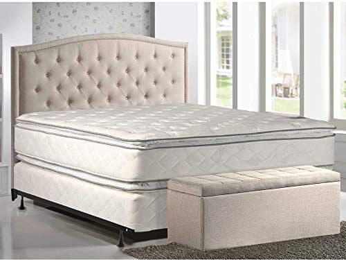 Amazing Offer On Dream Solutions Medium Soft Pillowtop Mattress Box Spring Set Full Size Double Sided Sleep System Enhanced Cushion Support Fully Assembled In 2020 Full Size Mattress Twin Mattress Set Soft