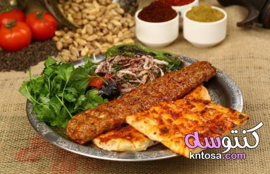 طريقة عمل كباب لحم مشوي تتبيلة الكباب المشوي السوري طريقة تحضير الكباب Cooking Seafood Turkish Recipes Food