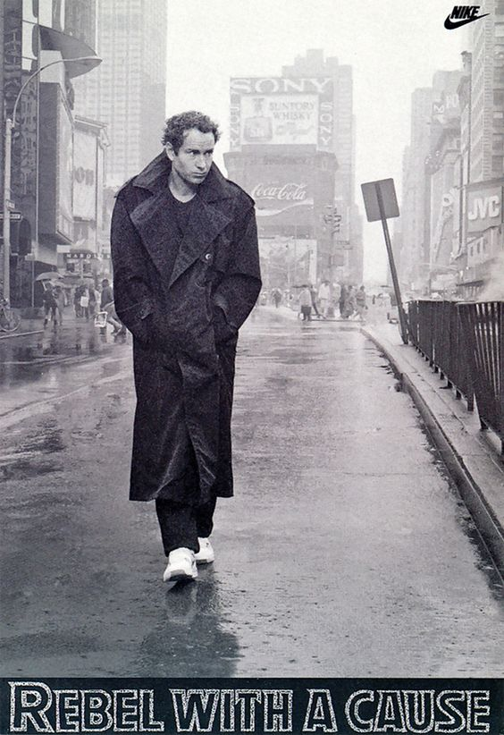 McEnroe Rebel With A Cause Nike poster