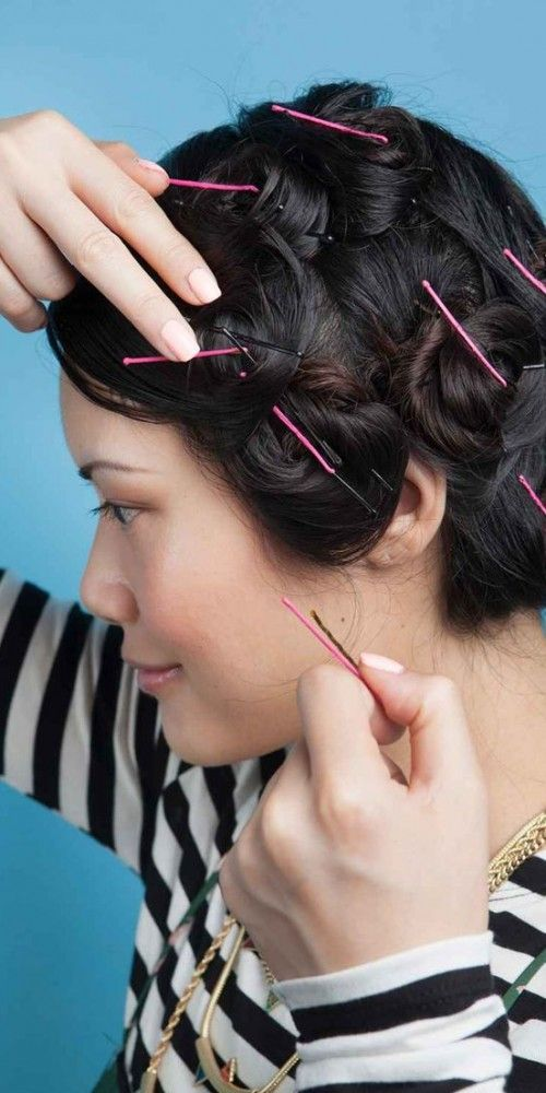 Curl Hair Without Heat, How To Curl Hair And Curls Hair On