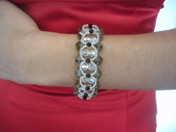 Check out this item in my Etsy shop https://www.etsy.com/listing/158225777/3-crystal-elegant-bracelets