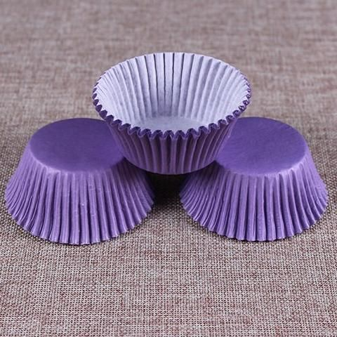New 100PCS Muffins Paper Cupcake Wrappers Baking Cups Cake Cup Decorating Tools