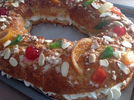 Mi Archivo De Cocina Roscón De Reyes Recetas De Tartas Y Pasteles Batido De Huevo Recetas De Tartas
