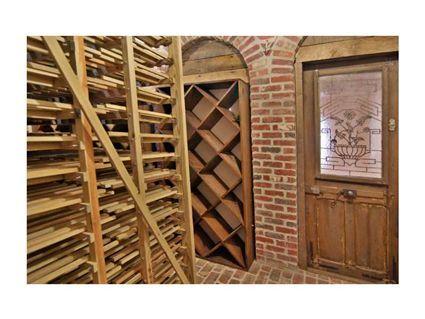 Cool door in this wine cellar