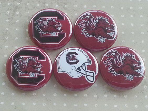 College Teams South Carolina Gamecocks Logos by BeyondAButtonShop
