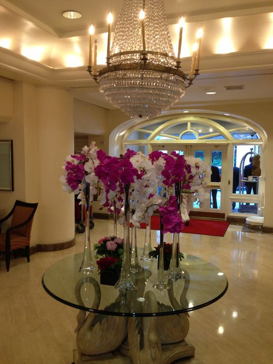 Flowers, Campton Place Hotel, San Francisco.