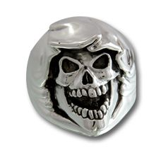 Reaper Ring Halloween Jewelry - Thief of all you have and all you will ever have....creepy!