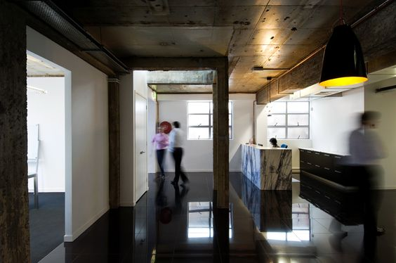 Office Fitout // exposed concrete // Brisbane Australia // Designed by Ellivo Architects