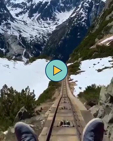 Descendo a montanha de carrinho