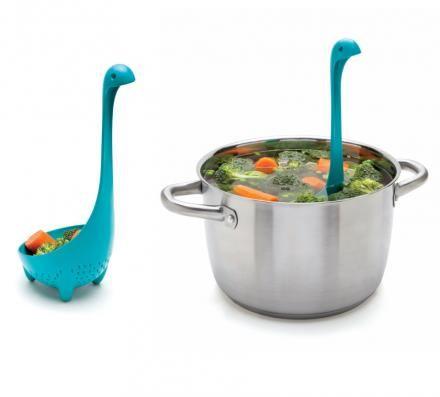 Nessie Colander Spoon: Loch Ness Monster Colander