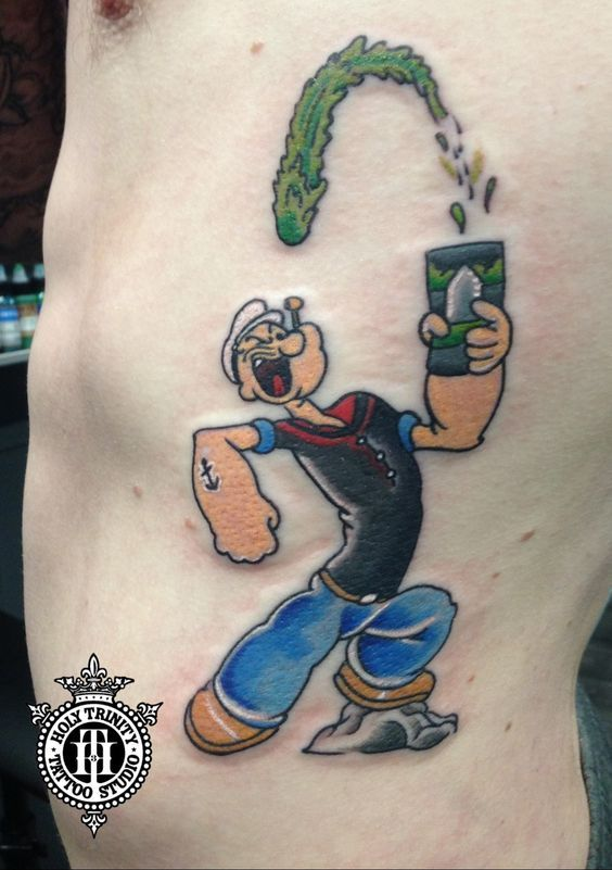 Pin By Suzyvitagliano On Tattoos Popeye Tattoo Tattoo Designs