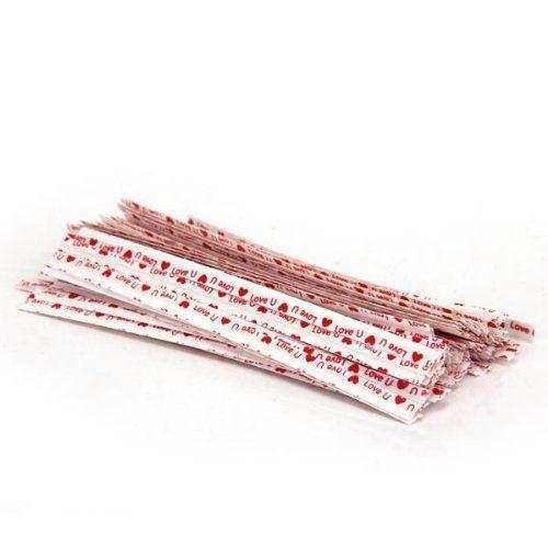 SODIAL(R) Lot 100pcs blanc kraft attache lien twist tie sachet bonbons biscuits sucettes SODIAL(R) http://www.amazon.fr/dp/B00OCEMILY/ref=cm_sw_r_pi_dp_LtG6ub0PV022H