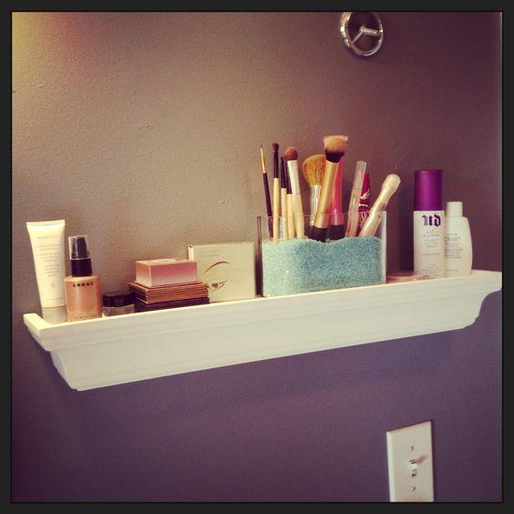 Makeup Shelves For Bathroom - Makeup Now