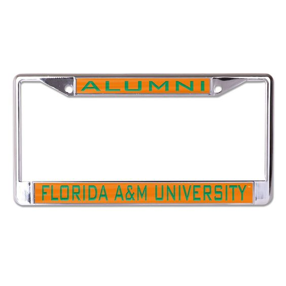 Florida A Amp M University Famu License Plate Frame Style One