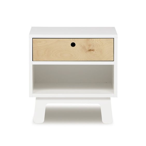 Oeuf Sparrow Nightstand – pomme. Making it.