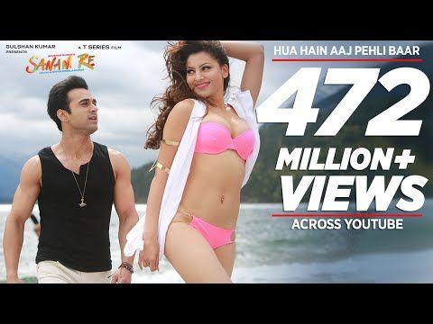 Hua Hain Aaj Pehli Baar Full Video Sanam Re Pulkit Samrat Urvashi Rautela Divya Khosla Kumar Youtube In 2020 Sanam Re Baar Youtube