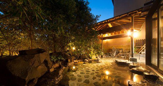 Bath | Yuhigaura Onsen Ryokan Kasyouen | Overlooking the Yuhigaura coast [Official lowest price guarantee]