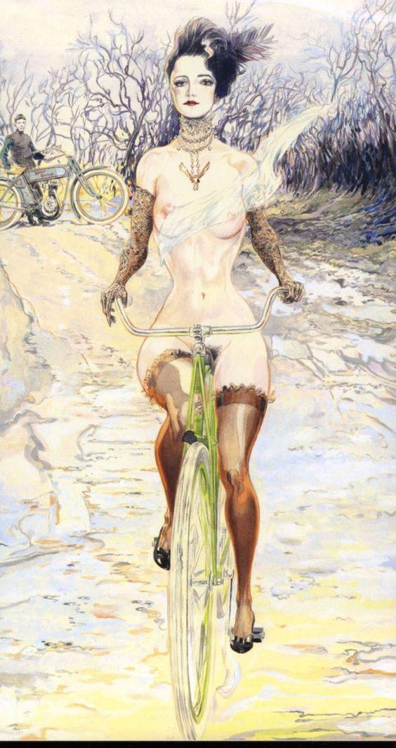 Arte da bicicleta Nelson