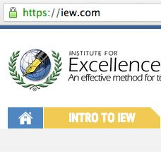 Come check out IEW's new site! IEW.com