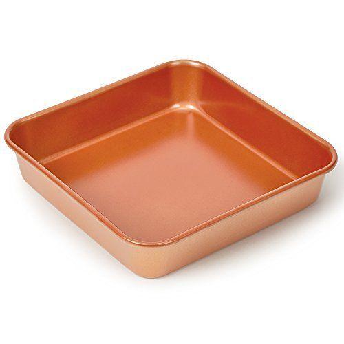 Copper Chef 12 Piece Bakeware Set Copper Cooking Pan Bakeware