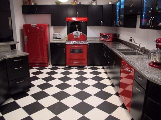 Retrohomedecor Retro Home Decor Rockabilly Retro Kitchen Tables Retro Kitchen Accessories Diner Decor