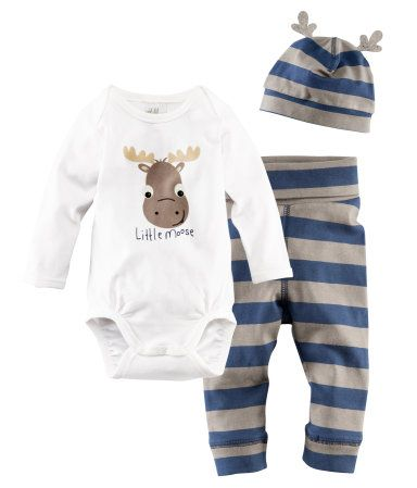 Little moose outfit kids clothes costumes pinterest reindeer boys and baby boy