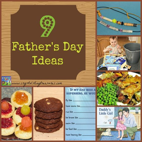 9 Father's Day Ideas