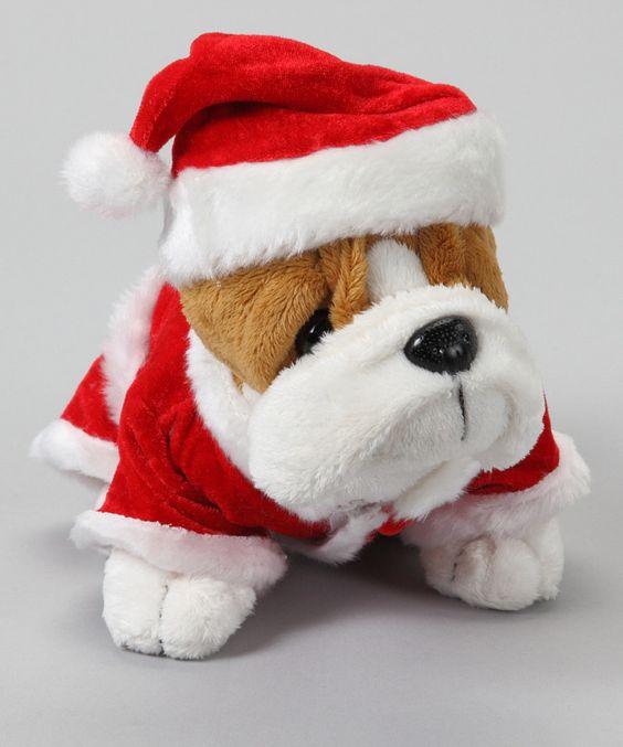 Bulldog & Santa Suit $9.99