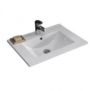 EAGO Waschbecken BB087E Einbau-Waschschale/Waschtisch mit Nano-Beschichtung-47462233