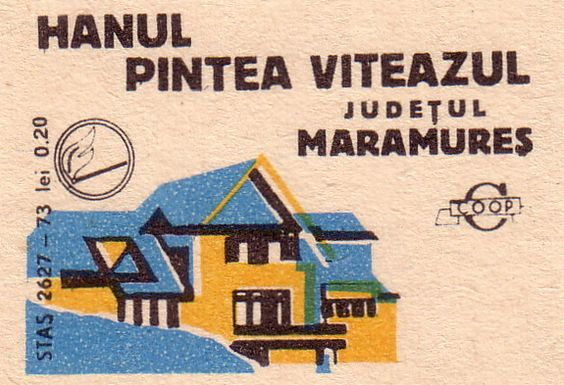 Romanian Matchbox Labels ~ Inns