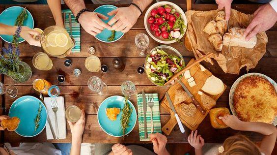 """""""Chaque repas contient une multiplicité d'histoires"""""""