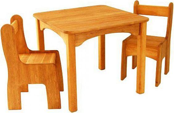 Drewart Tisch und Stühle Erle