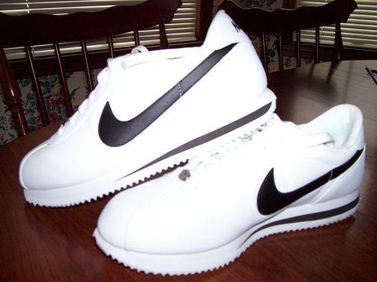 all black cortez shoes